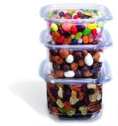 recycled PET, sustainable food containers, sustainable packaging, deli containers